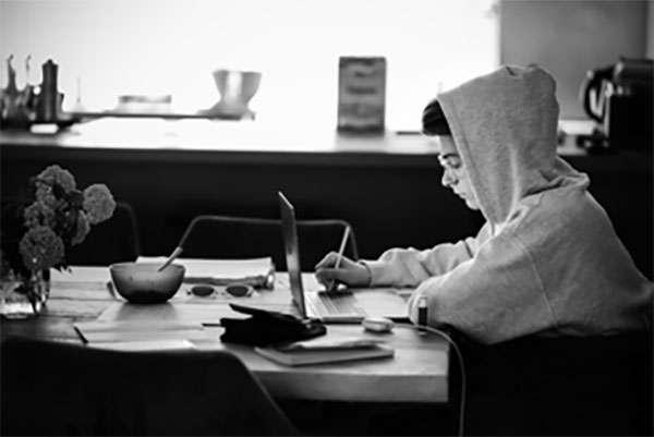 hard light black white photography
