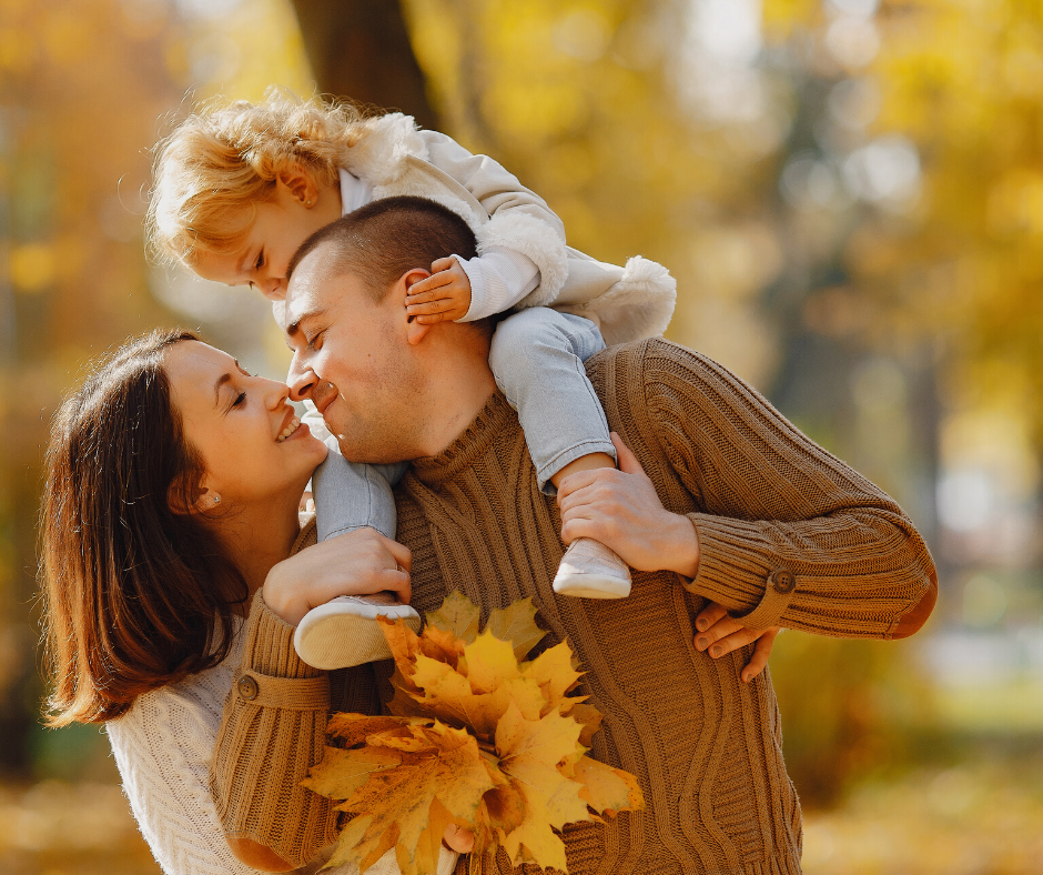 family photos muted colors
