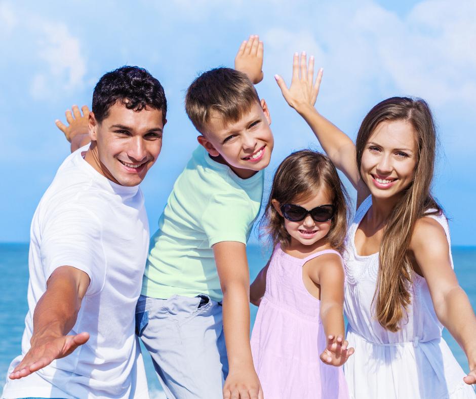 family photos comfortable clothing